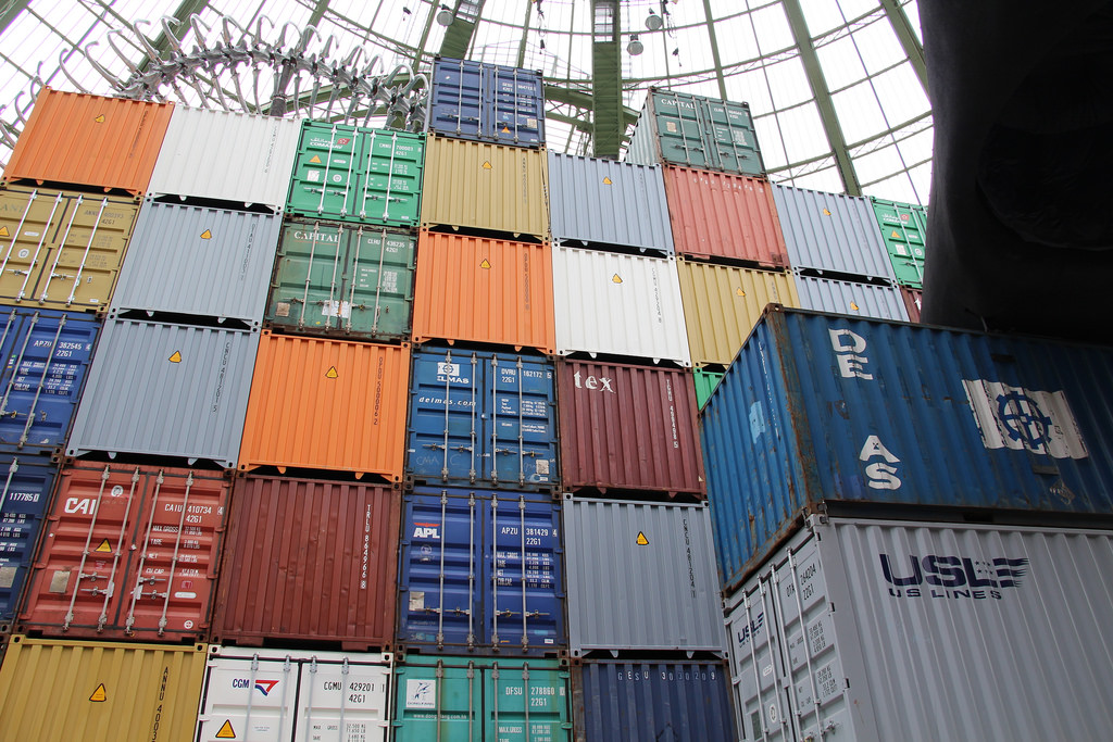 container nel retroporto